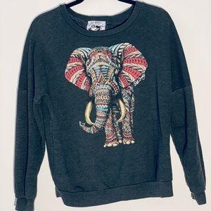 Pacsun Ornate Elephant Crew